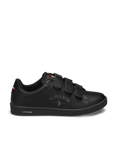 U.S. Polo Assn. Singer Kadın Sneaker Ayakkabı Siyah